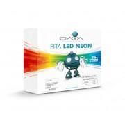 Fita LED Neon Gaya 9008 110V 9,6W Vermelha IP65 Rolo de 5 Metros