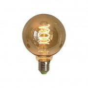 Lâmpada Filamento LED GMH Trade LG80-S-4W Spiral G80 E27 4W 2200K Dimerizável