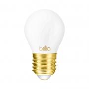 Lâmpada LED Brilia 301160 Filamento Milky E27 2,5W 2700K IP20 Bivolt