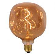 Lâmpada LED Brilia 303973 Assimétrica Âmbar G125 2W Âmbar E27 330G IP20 Bivolt