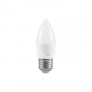 Lâmpada LED Brilia 304277 Vela Lisa Leitosa E14 3W 6500K IP20 Bivolt