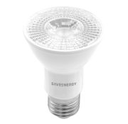 Lâmpada LED Save Energy SE-110.1441 Crystal Dimerizável PAR20 7W 2700K 36G Bivolt