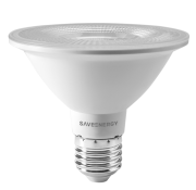 Lâmpada LED Save Energy SE-115.1463 Clear PAR30 10W 6500K 38G Bivolt