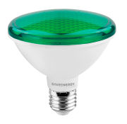 Lâmpada LED Save Energy SE-115.1269 Verde PAR30 10W 24G Bivolt