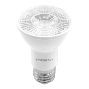 Lâmpada LED Save Energy SE-110.1690 Crystal E27 PAR20 4,8W 2700K 36G IP40 Bivolt