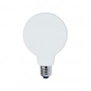 Lâmpada LED Save Energy SE-220.1983 G80 Milky E27 5W 2500K 500lm Bivolt