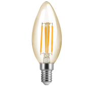 Lâmpada LED Save Energy SE-345.1383 Vela FIlamento VIntage 4W 2200K 360G 127V