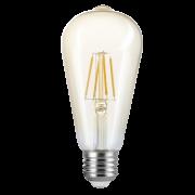 Lâmpada LED Save Energy SE-345.1391 Filamento ST64 Vintage E27 4W 2200K 360G IP20 Bivolt