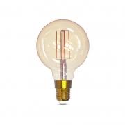 Lâmpada LED Smart Gaya 9875 G95 Filamento Dimerizável 5W 1800K/2400K IP20 Bivolt