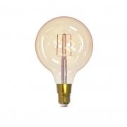 Lâmpada LED Smart Gaya 9876 G125 Filamento Dimerizável 5W 1800K/2400K IP20 Bivolt