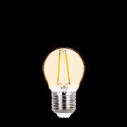 Lâmpada LED Stella STH6334/24 Mini Bulbo Filamento Vintage E27 2W 2400K 270G Bivolt