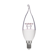 Lâmpada Led Stella STH7351/27 Vela Chama Dimerizável E14 6W 2700K 200G 127V