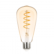 Lâmpada Led Stella STH8242/24 ST64 Filamento Vintage Espiral E27 2,5W 2400K 300G Bivolt
