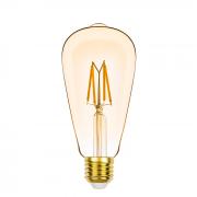 Lâmpada Led Stella STH8271/24 ST64 Dimerizável Filamento Vintage E27 4,5W 2400K 300G 127V