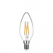 Lâmpada Led Stella STH8362/24 Vela Lisa Dimerizável Filamento E14 4W 2400K 300G 220V