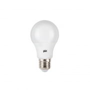 Lâmpada Pix 36504609 Bulbo LED E27 7W 3000K 560lm IP20 Bivolt Ø55x102mm