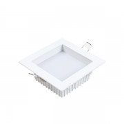 Luminária de Embutir Recuado Nordecor 4096/N Deep 18W 3000K 1890lm Bivolt 45x120x120 Branco