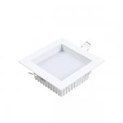Luminária de Embutir Recuado Nordecor 4100/N Deep 24W 3000K 2520lm Bivolt 45x120x120 Branco