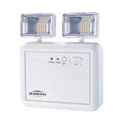 Luminária de Emergência Blumenau 40011214 Bloco Autônomo LED 5W 6500K 1200lm 53x190x220mm