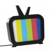 Luminária de Mesa Carambola LTV TV 1L E27 Bivolt 275x245x110mm Preto