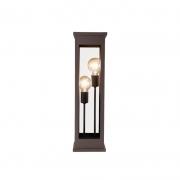 Luminária de Piso DM Lumi 511/60-OL Retrô 1L E27 600x170x170mm Branco Textura