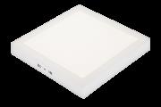 Luminária de Sobrepor Pix 36505917 LED Quadrado 32W 4000K 2600lm Bivolt 400x400x35mm Branco