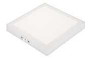 Luminária de Sobrepor Pix 36505918 LED Quadrado 6W 3000K 300lm Bivolt 110x110x28mm Branco