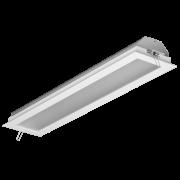 Luminária Embutir Incolustre 896.51 Slim 2L Tubular 660x171x128mm