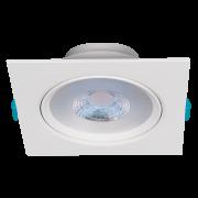 Luminária Embutir LED Stella STH7925/30 Easy Quadrado PAR30 12W 3000K Bivolt 140x140x59mm - Branco