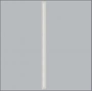 Luminária Embutir Usina 3708/125F Ruler Retangular 1L Tubular 120cm T8 G13 80x1280x70mm