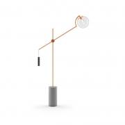 Luminária Klaxon 03170020 Howlin LED 1L E27 Bivolt 1550x1150x200mm