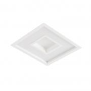 Luminária LED Embutir Usina 19035/50LED3 Meg 32,8W 3000K Bivolt 500x500x75mm