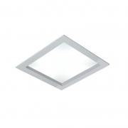 Luminária LED Embutir Usina 19045/50LED3 Ayla 32,8W 3000K Bivolt 500x500x75mm