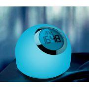 Luminária Mesa LED Opus HM31705 Módulo Watch RGB 2W Bivolt Dimerizável Ø163x120mm