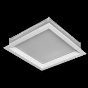Luminária Sobrepor Incolustre 898.07 New Slim 1L E27 160.5x160.5x50.8mm