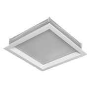 Luminária Sobrepor Incolustre 898.09 New Slim 2L E27 250x250x50,8mm