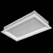 Luminária Sobrepor Incolustre 898.16 New Slim 2L E27 450.3x120.5x50.8mm