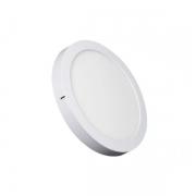 Luminária Sobrepor LED Ecoforce 17289-OUTLET Redondo 18W 3000K IP20 Bivolt Ø225x34mm