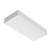 Luminária Sobrepor LED Lumicenter LHT41-S 17,5W Bivolt 186x90x590mm
