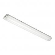 Luminária Sobrepor Lumicenter CHT01-S132 Retangular 1L Tubular 120cm T8 IP66 145x111x1272mm - Branco