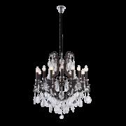 Lustre Mantra 30178 Artemis Cristal Transparente 13L E14 Ø750x900mm - Dark Grey