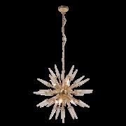Lustre Mantra 30533 Spina C/ Cristal 6L E14 Ø710x660mm - Dourado Frances