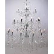 Lustre Tupiara 9129 Taj Mahal 29L E14 Ø1420x1480mm Transparente