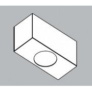 Módulo Externo para Perfil Linear 30064/1 C Jotha P/ 1 Mini GU10 MR11 100x45x55mm
