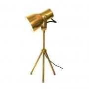 OUTLET Luminária de Mesa SpotLine 665/1 City 1L E27 Ø140x380mm Cobre Polido