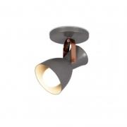 OUTLET Spot Sobrepor SpotLine 708/1 Triton 1L E27 Ø100x180mm Dourado Ono