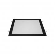 Painel Embutir LED Blumenau 80466001-OUTLET Slim Quadrado 24W 6500K 295x295x15mm - Preto