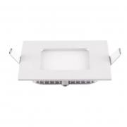 Painel Embutir LED Blumenau 84063004-OUTLET Slim Quadrado 6W 3000K 119x119x15mm
