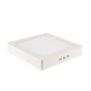 Painel Sobrepor LED Blumenau 80703004-OUTLET Slim Quadrado 12W 3000K 160x160x28mm
