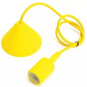Pendente BLight BL7014 Silicone Colorido E27 2 Metros De Cabo (2000mm) Amarelo